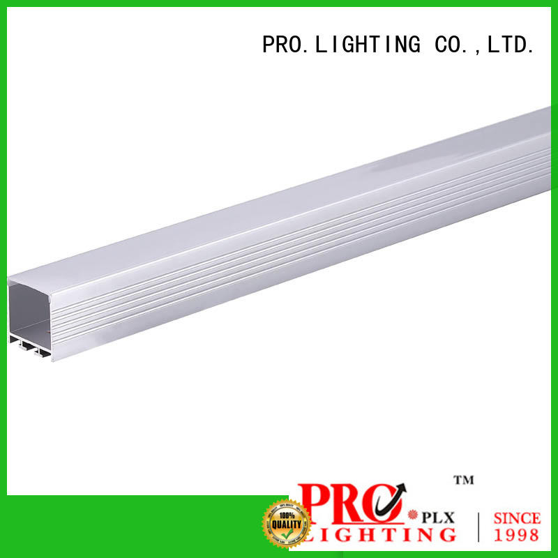 PRO.Lighting stable suspended linear light fixtures personalized for boutique