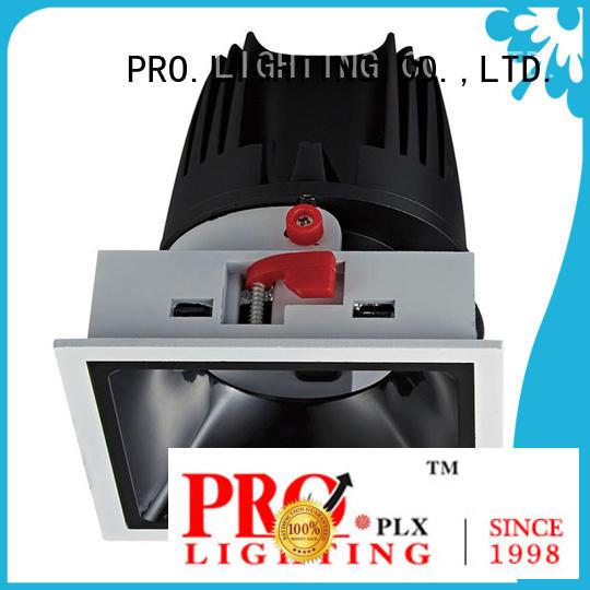 sturdy waterproof downlights aluminum factory price for restaurant