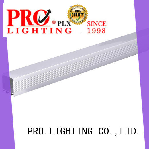 PRO.Lighting certificated suspended led linear lighting factory price for hospital