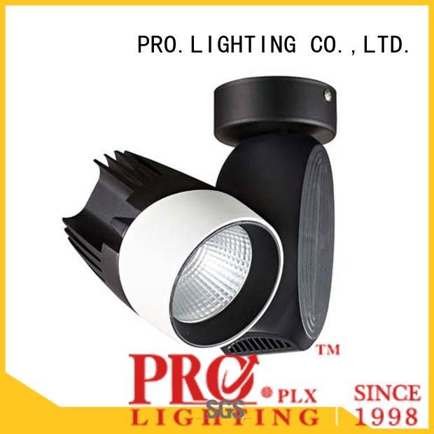 PRO.Lighting efficient 3 phase track light design for ballroom