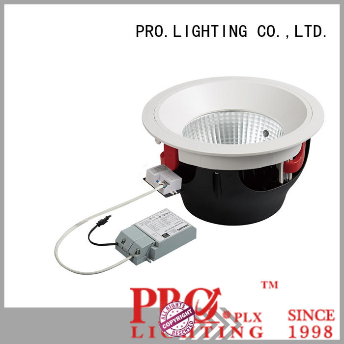 professional square recessed downlights trim personalized for stage