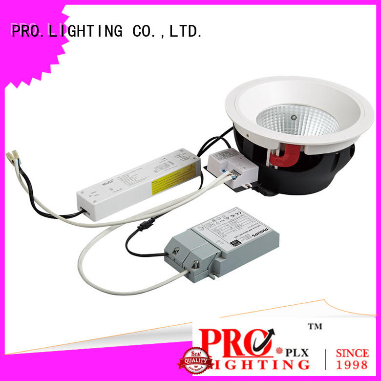 PRO.Lighting quality square recessed downlights supplier for stage