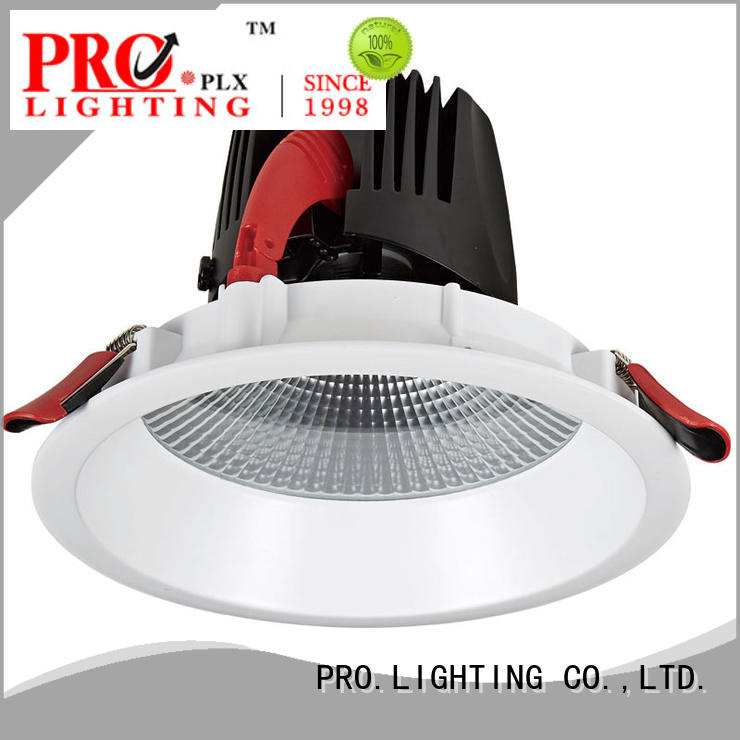 PRO.Lighting certificated low profile downlights personalized for ballroom