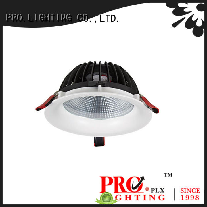 certificated bathroom led downlights 10w supplier for stage