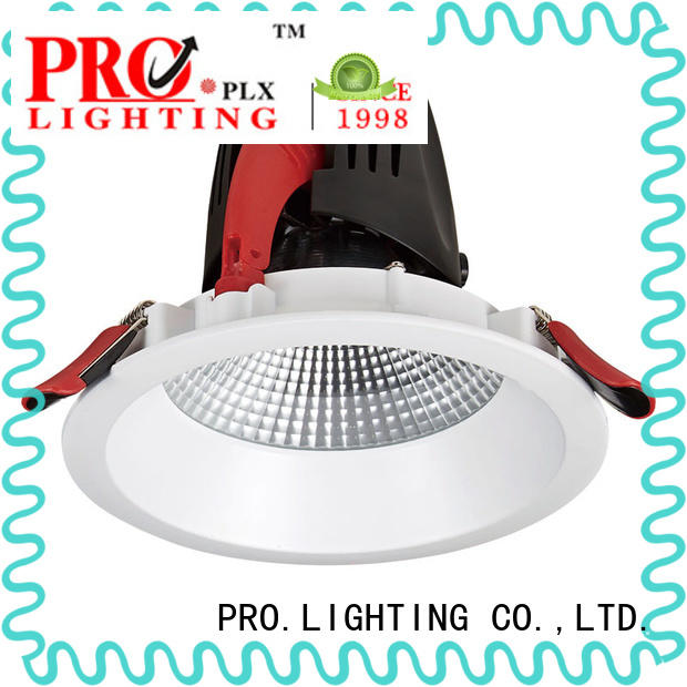 Pro.Lighting Anti-glare Recessed Downlight Cob Led Down Light with Heat Sink Interchangeable 30W DL6006