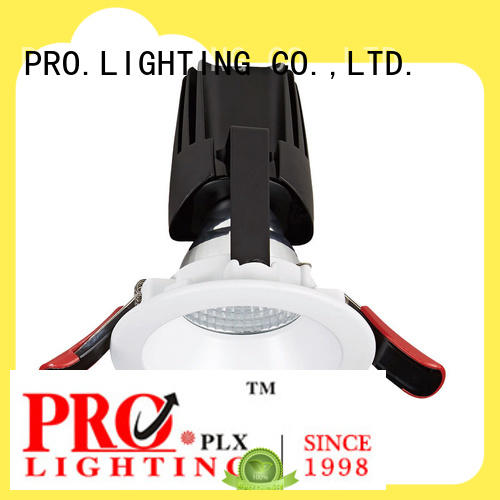 PRO.Lighting certificated square recessed downlights wholesale for ballroom