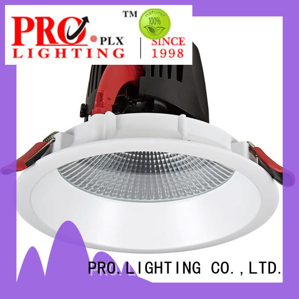 PRO.Lighting stable ceiling downlight fittings supplier for dance hall