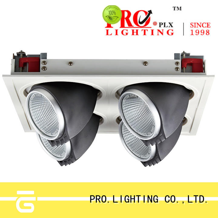 Pro.Lighting Recessed Grille Spot Light 4x30W With 4 Heads SPL4030-4