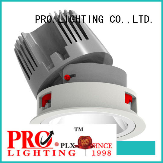 Pro.Lighting Round Recessed Downlight COB Led Wall Washer Light 40W DL8006
