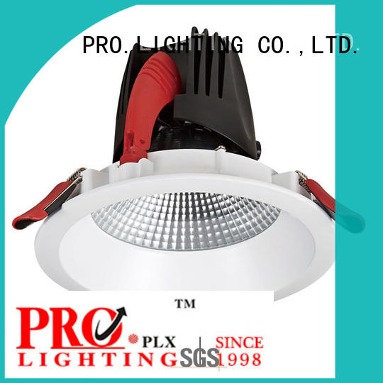 professional low profile downlights cob supplier for restaurant
