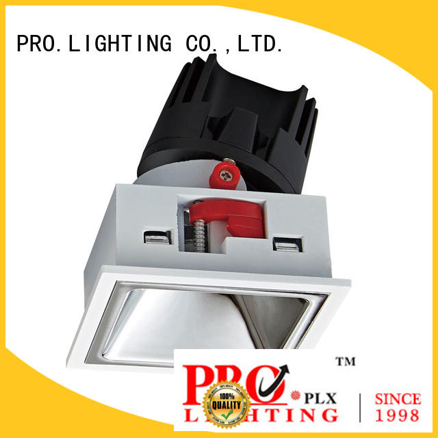 certificated wall washer downlight square factory price for indoor